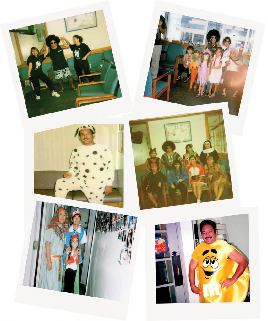 halloween photo collage